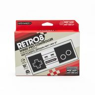 Retro-Bit Retro8 Wired Pro Controller, NES/Wii/Wii U -ohjain