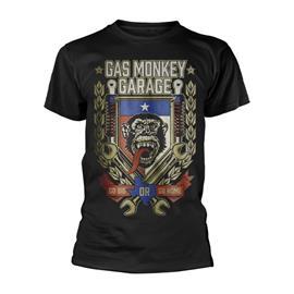 GAS MONKEY GARAGE GO BIG OR GO HOME T-Paita