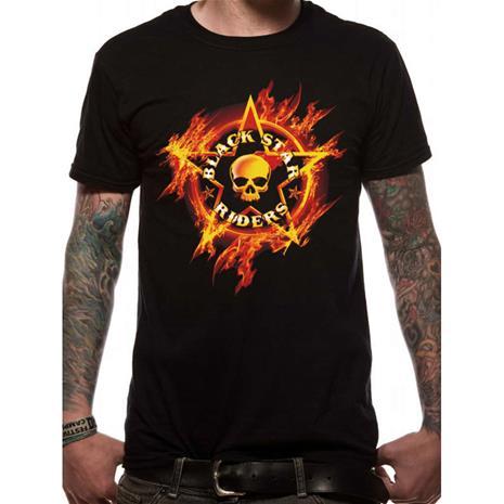 Black Star Riders - FLAMES (UNISEX) T-Paita