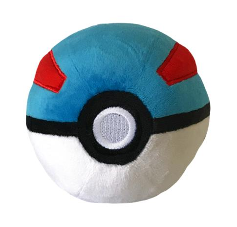 POKE BALL PLUSH ,GREAT BALL