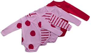 Tiny Treasure Alexie Body 4-Pack, Pink Lavender 68