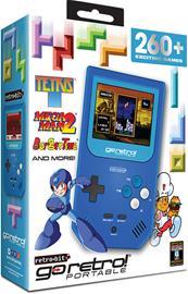 Retro-Bit Go Retro! Portable, pelikonsoli + 260 peliä