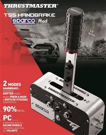 Thrustmaster TSS Handbrake Sparco Mod, PC -peliohjain