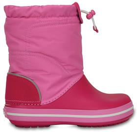 Crocs Kids Crocband LodgePoint Saappaat, Candy Pink/Party Pink 27-28