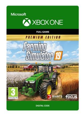 Farming Simulator 19 Premium Edition, Xbox One -peli