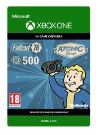 Fallout 76 - 500 Atoms, Xbox One -peli