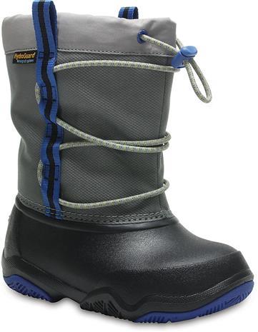 Crocs Swiftwater Känga, Black/Blue Jean 22-23