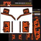 Fox Racing Shox Decal 2016 AM , oranssi
