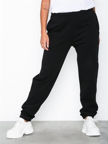 NLY Trend Cozy Sweat Pants Musta