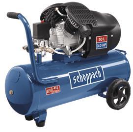 Scheppach HC53dc 50l 3Hp, kompressori