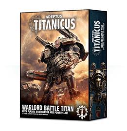 Adeptus Titanicus: Warlord Titan with Plasma Annihilator GW