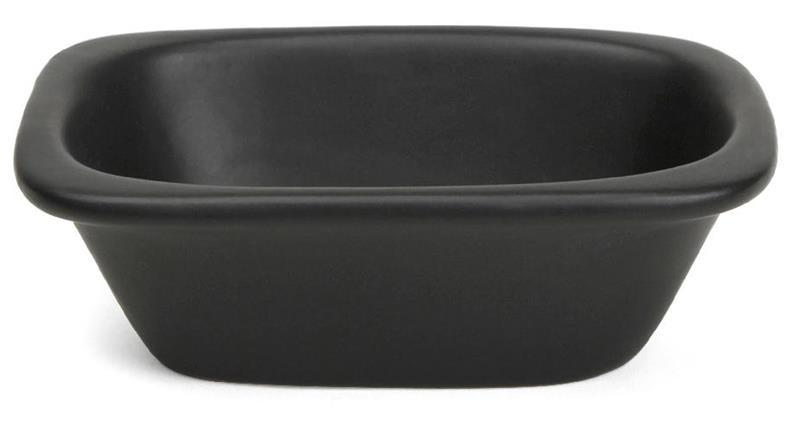 Syvä kulho 10x6,5cm, musta, Bowls