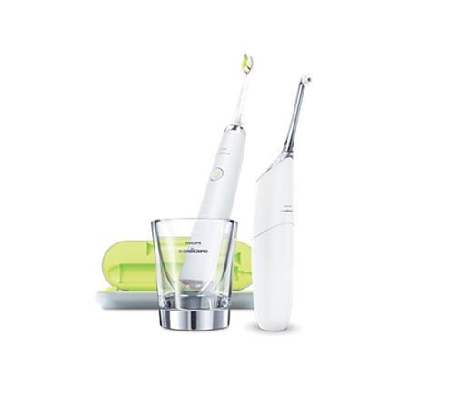 Philips Sonicare AirFloss Pro/Ultra HX8491/01, hammasvälipuhdistin ja sähköhammasharja