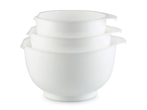 Kulhosetti Mitalla 3 osaa Valkoinen, Keittiötarvikkeet