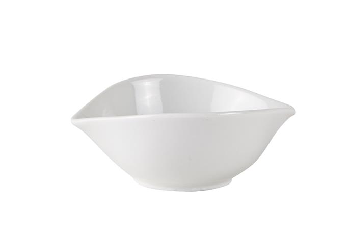 Kulho Porsliini Valkoinen 12x10 cm, Bowls