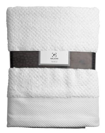 Pyyhe 100% Puuvilla Valkoinen 140x70 cm, BathTowel