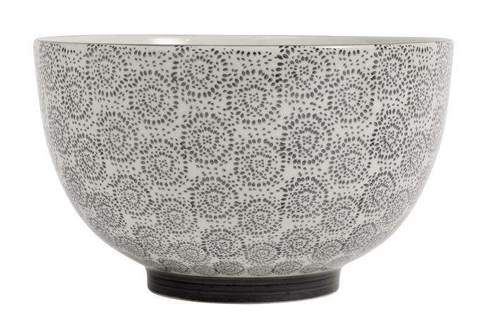 Blossom kulho, musta 25 cm, Bowls
