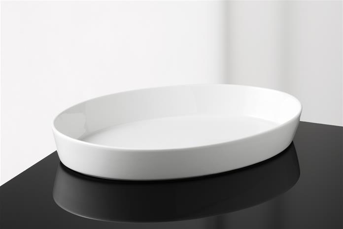 Aroma de luxe lautanen ovaali 30 cm, Plates