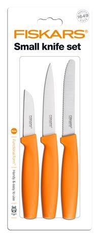 FF Pieni veitsisetti 3 veistä oranssi, Keittiöveitsi
