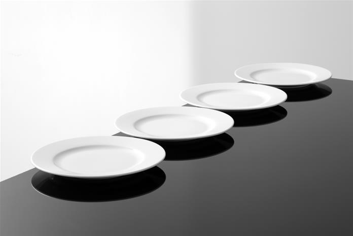 Solid lautanen 19 cm 4-pack, Plates