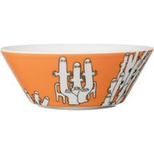 Muumi Kulho 15 cm Hattivatit, Oranssi, Bowls