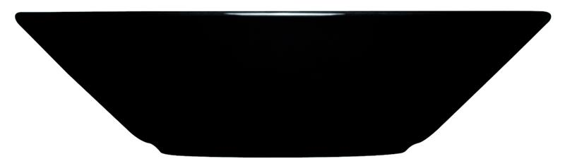 Teema Syvä lautanen 21 cm musta, BowlAndServingPlate