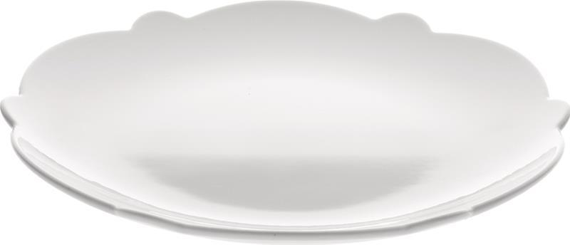 Jälkiruokalautanen valkoinen 20,5 cm, SmallSidePlate