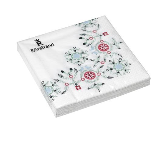 Swedish Grace Winter servetti 33x33 cm 20-pack, KitchenTextiles