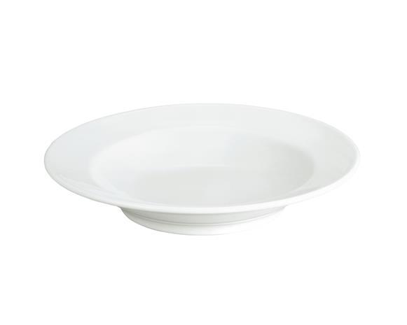 Sancerre Pastalautanen syvä valkoinen 26 cm, BowlAndServingPlate