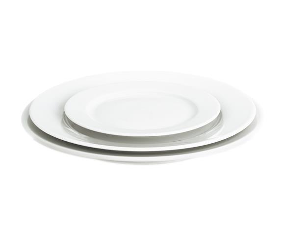 Sancerre Lautanen valkoinen Ø 28 cm, Plates