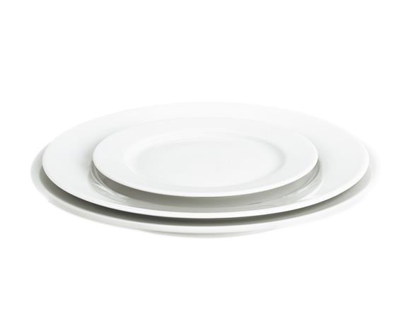 Sancerre Lautanen valkoinen Ø 26 cm, Plates