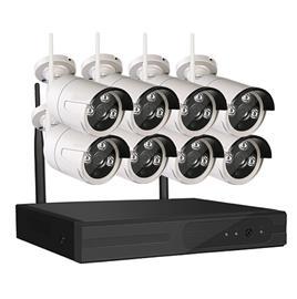 SUMOGUARD Övervakningssystem trådlöst Wi-fi 960P HD Mikrofon