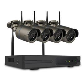 SUMOGUARD Övervakningssystem trådlöst Wi-fi 1080P HD 3TB Hårddisk