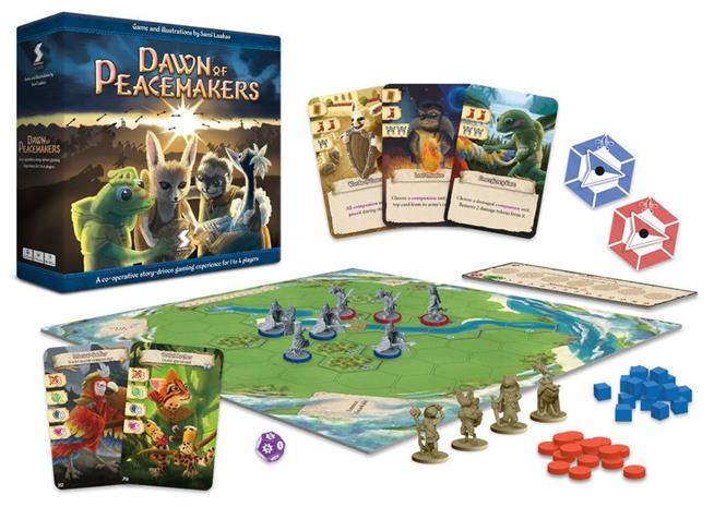 Dawn of Peacemakers Lautapeli