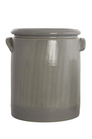 Kukkaruukku Pottery 24 cm - Vaaleanharmaa, VaseAndPot