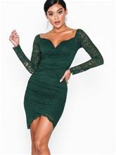 NLY One Wrap Lace Dress Vihreä