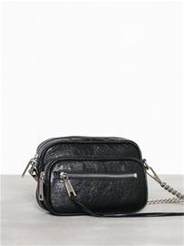 Rebecca Minkoff Solstice Camera Bag Distressed Musta