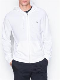 Polo Ralph Lauren Long Sleeve Terry Knit Puserot White