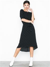 Jacqueline de Yong Jdyhero 2/4 Midi Dress Wvn Musta
