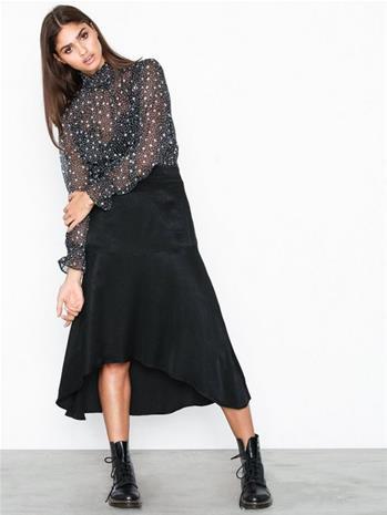 NORR Harper skirt Musta