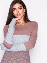 Jacqueline de Yong Jdyelanor L/S Pullover Knt Hnn Violetti