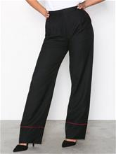 Pieces Pcjanne Mw Wide Pants Ff Musta