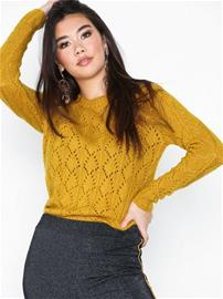 Sisters Point Pretty Knit Mustard