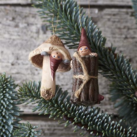 Etly Klarborg Nisserikker 2014, joulukoristeet 2 kpl