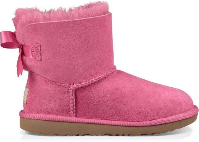 UGG Mini Bailey Bow II Kids Boots, Pink Azalea 33