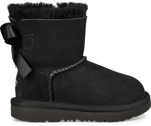UGG Mini Bailey Bow II Toddler Boots, Black 25