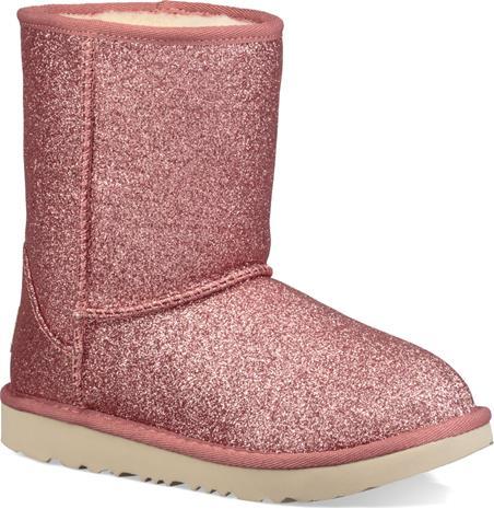 UGG Classic Short II Glitter Kids Boots Saappaat, Pink 31