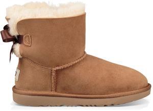 UGG Mini Bailey Bow II Kids Boots, Chestnut 33