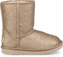 UGG Classic Short II Glitter Toddler Boots Saappaat, Gold 26
