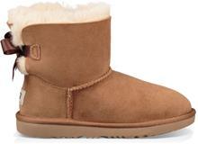 UGG Mini Bailey Bow II Kids Boots, Chestnut 35